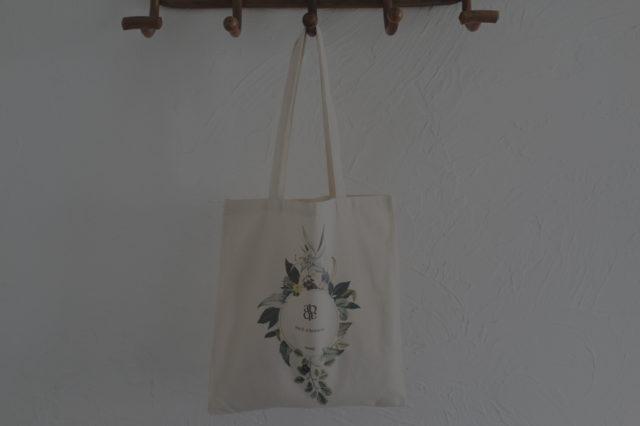Tote bag à fleurs