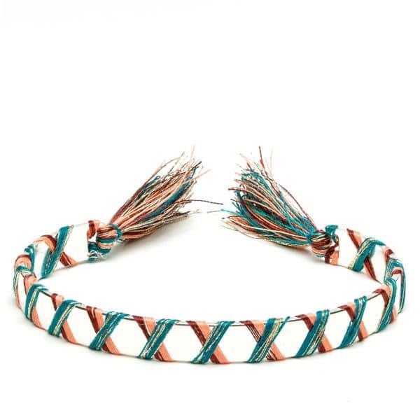 Bracelet croisillon argent