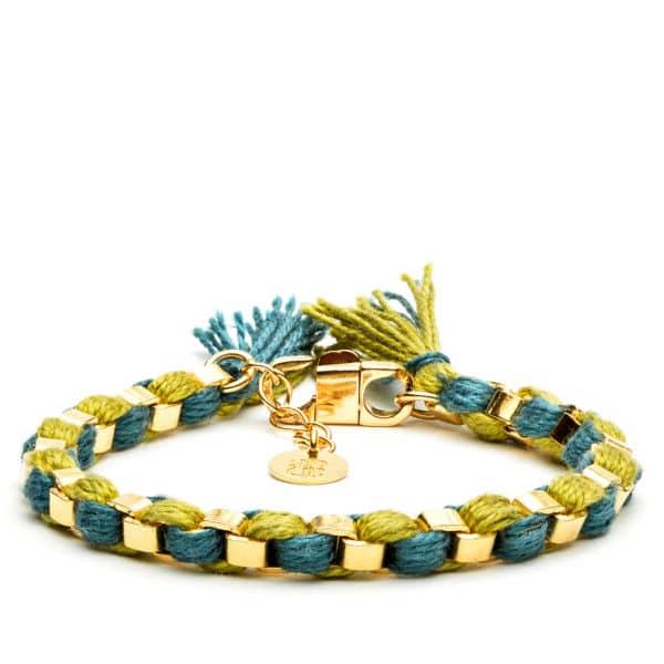 bracelet scoubidou or