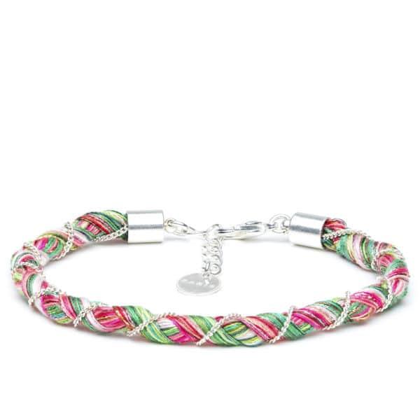 bracelet 75 fils argent