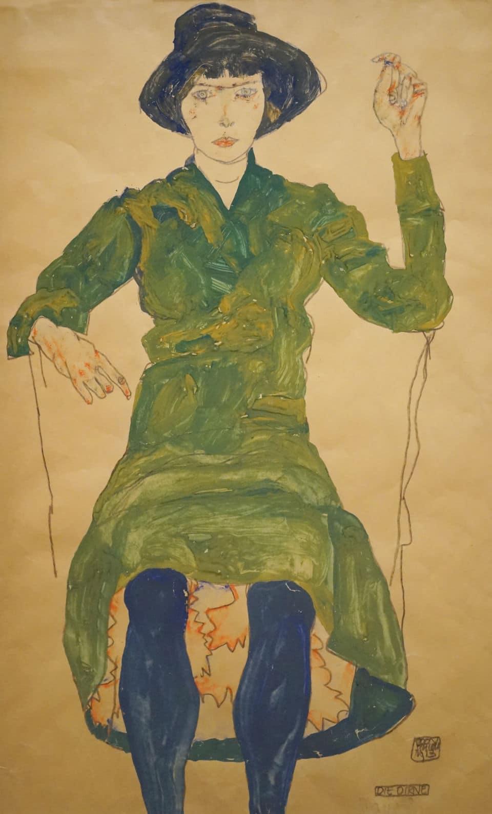 Egon Schiele à la fondation Vuitton