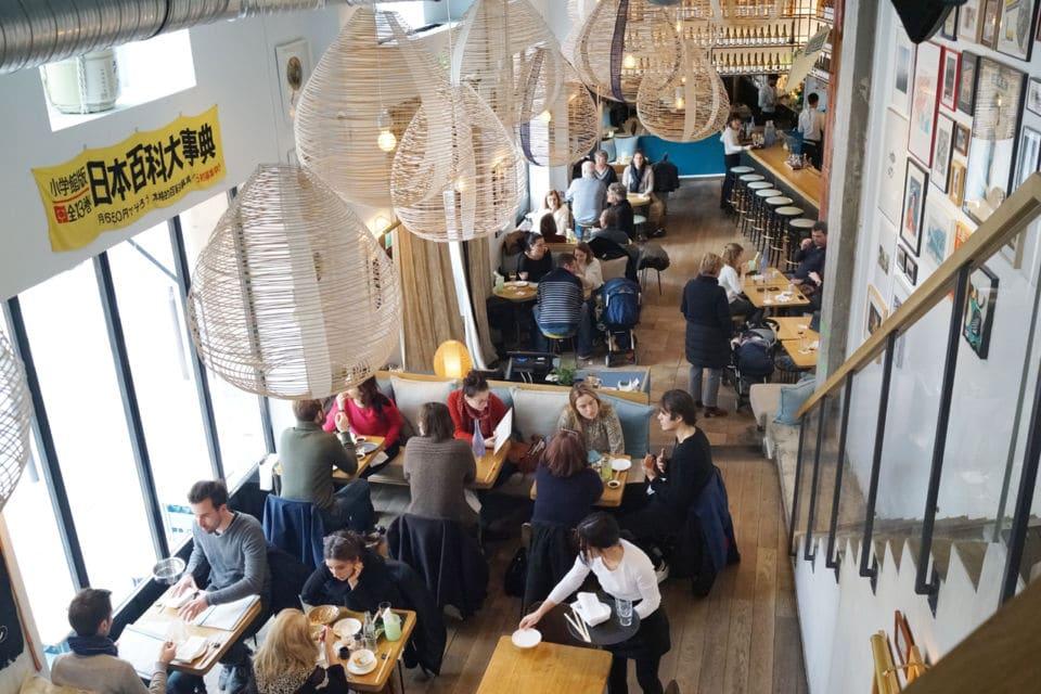 Un restaurant japonais à Paris