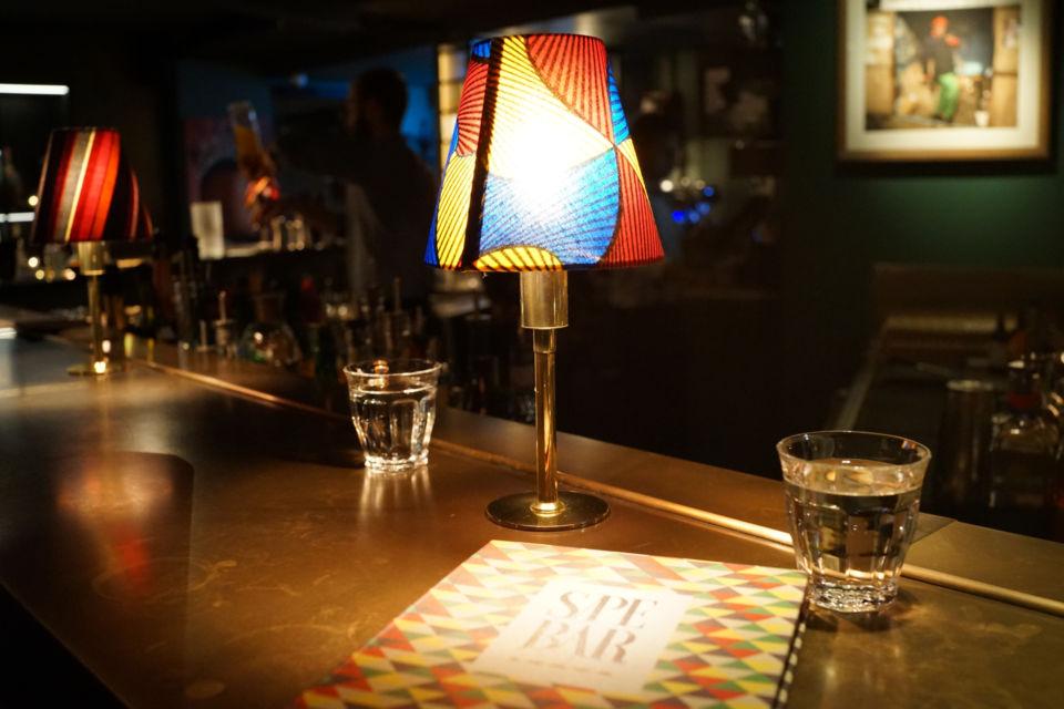 Prendre un cocktail au Sape bar