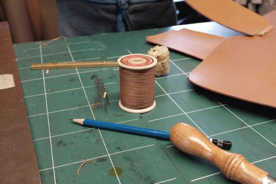 Un Sac à main en cuir fabriqué en France avec du cuir tanné de façon végétale