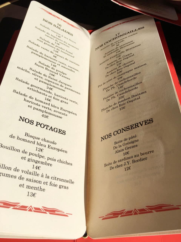 Le vacherin façon fraise melba du Relais Saint Germain