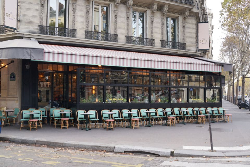 Le grill room à Paris