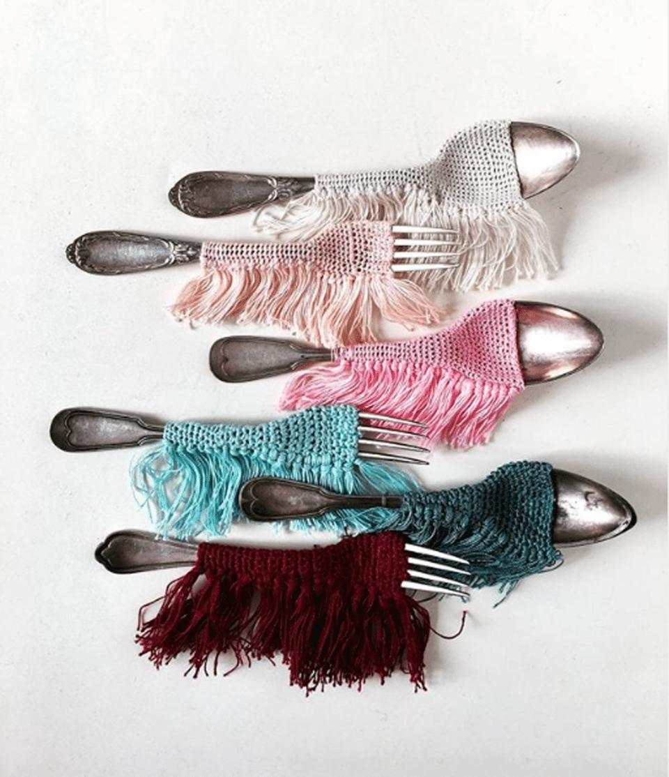 la talentueuse artiste textile Aurélie Mathigot